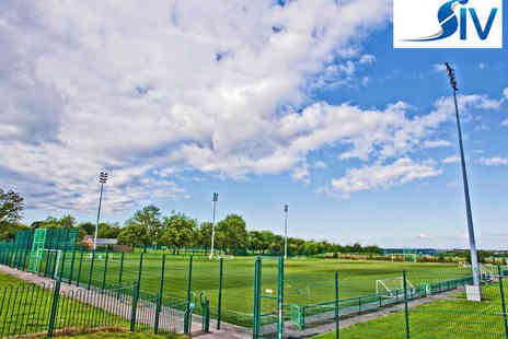SIV - Kids Football Party One Astro Turf Pitch Hire at Off Peak Times - Save 52%