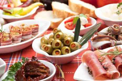 Yardleys Cafe Bar - Tapas For Two With Bottle of Wine  - Save 50%