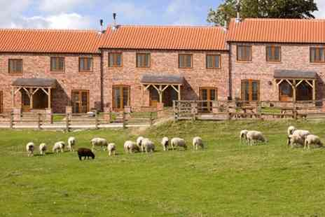 Red House Farm Cottages - Two night Stay For Four - Save 50%