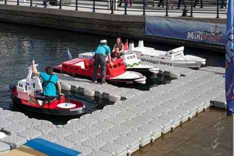 Nautikidz  - Miniature Boat Hire For Five  - Save 50%