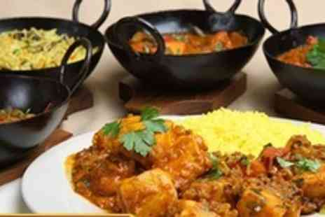 Curry Karaoke - Four Course Indian Banquet For Four With Glass of Bubbly Each - Save 67%