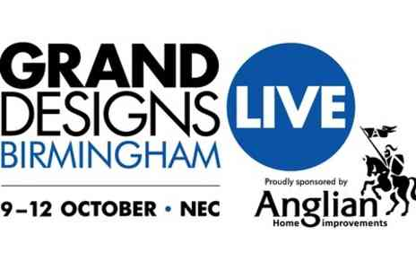 Grand Designs Live Birmingham -  VIP Entry With Bubbly  - Save 52%