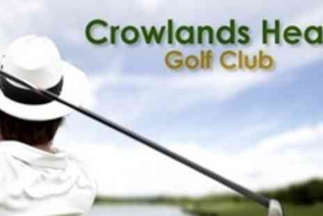 Crowlands Heath Golf Club - One Years Full Membership Plus Green Fees for One Round of Golf - Save 70%