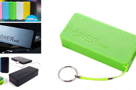 E-Best - Power Bank External Portable Battery 5600mAh - Save 76%