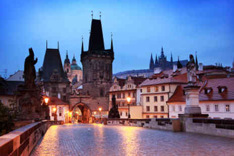 EnjoyHoliday - Three Night Stay in Prague with Flights - Save 50%