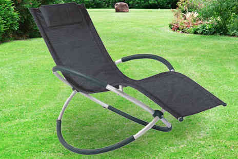 TA SIMA Warehouse - Moon Rocker Indoor and Outdoor Chair - Save 58%