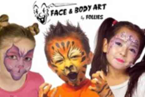 Follies Facepainting - Facepainting courses  - Save 50%