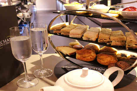 Samlesbury Hotel - Champagne tea for two  - Save 56%