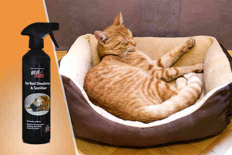 Good Ideas - 500ml bottle of pet bed deodoriser and sanitiser - Save 53%