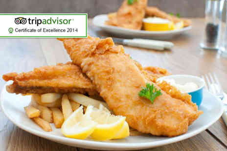 Seafarers St Annes - Fish, chips and drinks foTwo - Save 39%