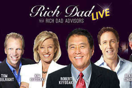Rich Dad Live - Two Day Admission to Rich Dad Live Business Event - Save 10%