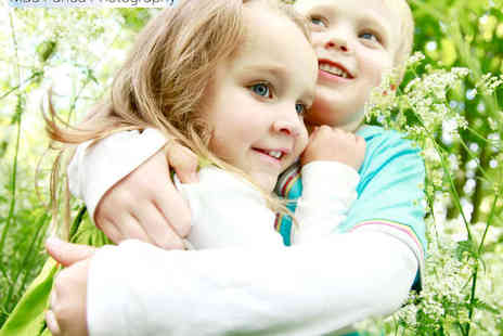 Mad Panda Photography - Family Photography Session with 20 Low Resolution Images  - Save 80%
