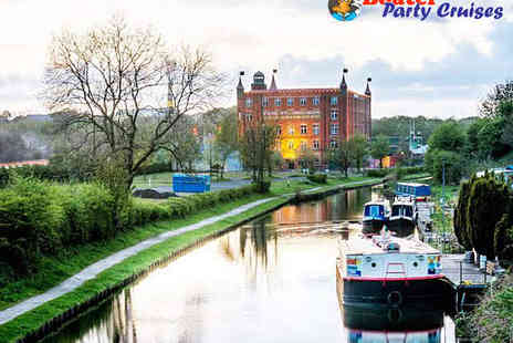 Boatel Party Cruises - 90 Minute Canal Cruise with Cream Tea for Two - Save 52%