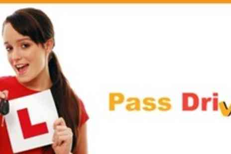 Pass Drive - Three 60 Minute Driving Lessons - Save 67%