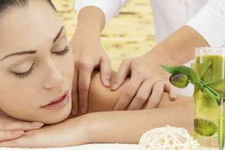 utopia beauty spa - Choice of Massage With Facial Plus Pool Session - Save 68%