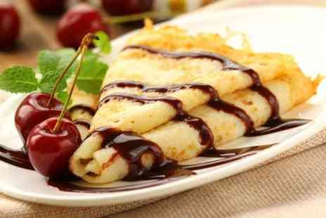 Sophies - Crepes With Hot  or Alcoholic Drinks For Two  - Save 53%
