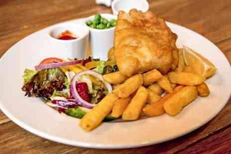 the waterford arms - Fish and Chips Plus Drink For Two  - Save 44%