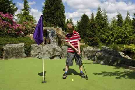 Shobnall Leisure Complex - Crazy Golf or Pitch and Putt  or Both  - Save 51%