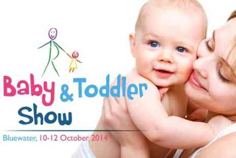 Baby and Toddler Show Bluewater - Entry to Baby and Toddler Show  - Save 36%