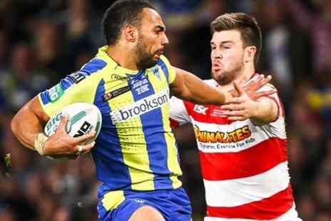 The Rugby Football League - One Ticket to First Utility Super League Grand Final 2014  - Save 50%