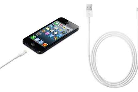 J & S Wholesales - 1m or 3m USB Charging Cables for iPhone 5 - Save 67%