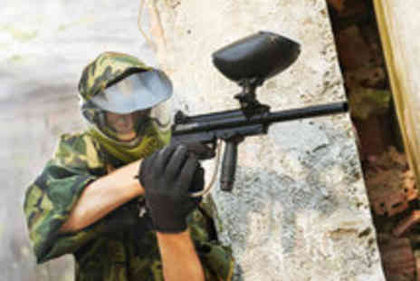 Paintball South - Full Day Paintballing Including 100 Paintballs and Lunch - Save 70%