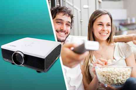 Eurosfield Maptrak  - HD home theatre multimedia LCD projector - Save 71%