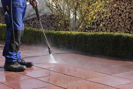Vale Clean - Professional pressure washing session - Save 51%