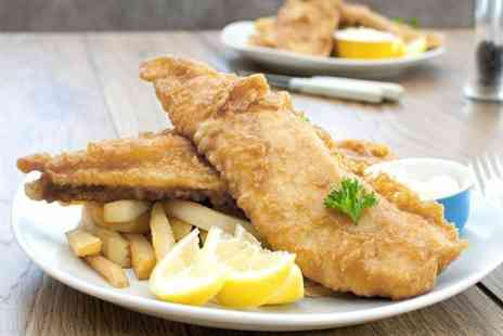 The Almighty Cod - Fish and Chips Meal For Two  - Save 34%