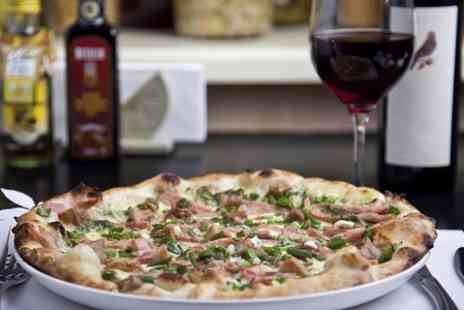 Vivere Restaurant - Pizza or Pasta With Wine For Two  - Save 51%