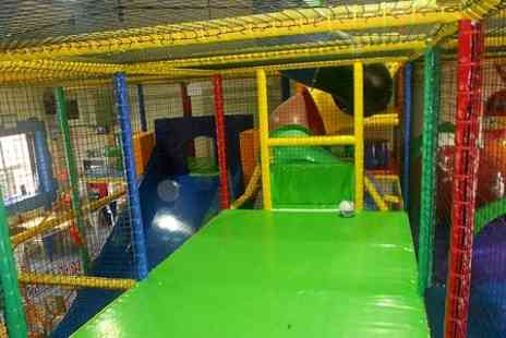 Tower Of Fun - Fun Soft Play and Slush Puppies For Two - Save 60%
