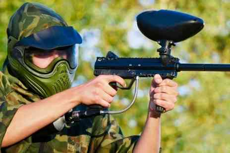 Universal Sports Arena - Paintball Game With 200 Balls  - Save 43%