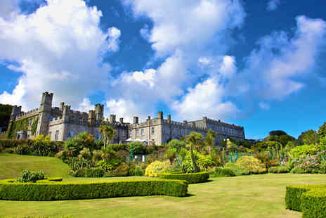Tregenna Castle Hotel - Cornish Castle Escape for two with Breakfast & Cream Tea - Save 58%