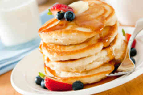 The Health Hut - Healthy Pancake Brunch for Two - Save 55%