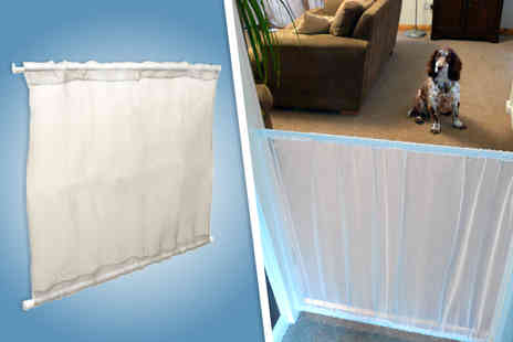 Good Ideas Online - Nylon mesh panel pet safety gate - Save 40%