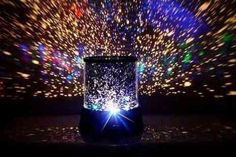 Once Upon a Company - Multi coloured starlight projector - Save 67%