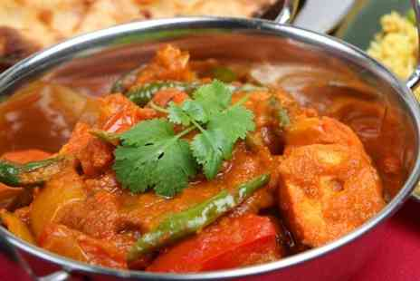 Balti King - Two Course Indian Meal For Two  - Save 56%