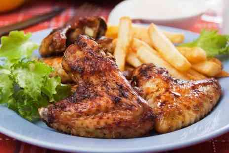 Wingos - £15.50 Worth of Grilled Chicken  - Save 52%