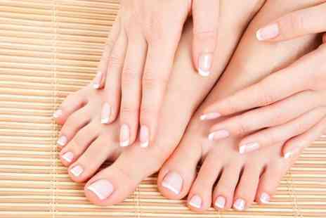 The Only Way is Wessex - Gel Manicure or Pedicure or Both  - Save 72%