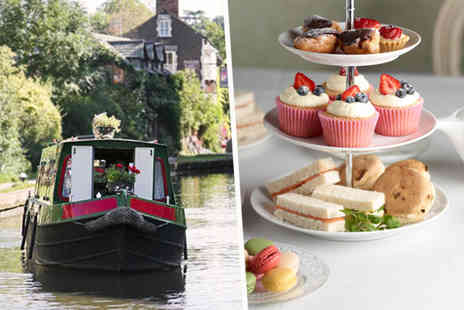 M.Bar.K - Canal cruise and afternoon tea for two - Save 52%