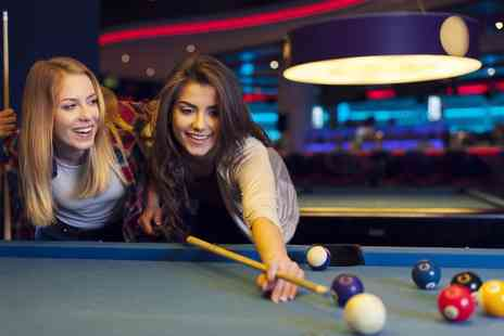 Papa Chans - Two hours of pool or snooker and a pizza for two - Save 56%