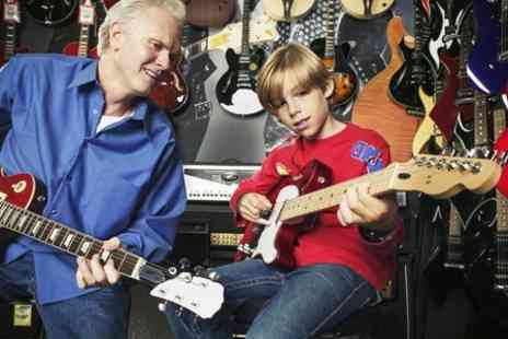 RJS Music - Electric Guitar Lessons - Save 50%