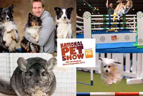 Brand Events International - Tickets for the first National Pet Show 20 & 21 September  - Save 50%