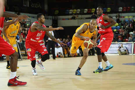 London Lions - Three tickets to see the London Lions vs Bristol Fliers  - Save 53%