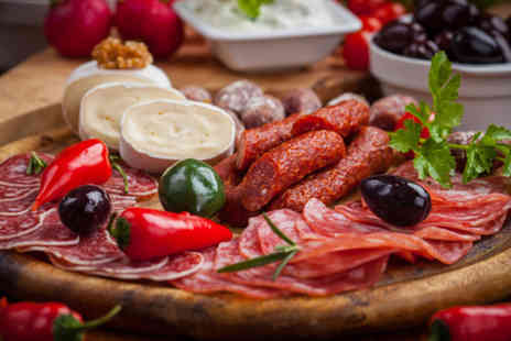 Zoritas Kitchen - Spanish Iberian meat and cheese platter for two - Save 51%