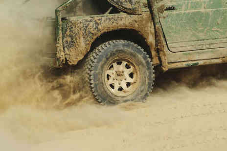 Green Track Events - 4x4 Off Road Driving Experience for One - Save 49%