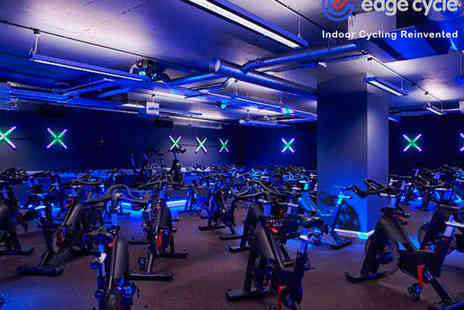 Edge Cycle - Three Indoor Cycling Classes - Save 58%