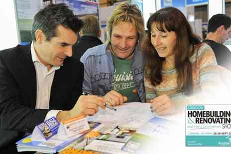 The London Homebuilding - Two Tickets to The London Homebuilding & Renovating and Home Improvement Show - Save 50%