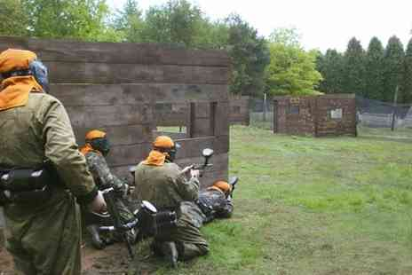 Paintball Park - Paintball Park Session With Lunch For Two - Save 85%