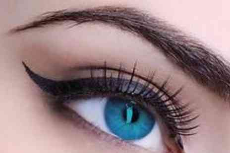 Fusion Hair and Beauty - Semi permanent lashes with an eyebrow wax and tint - Save 70%